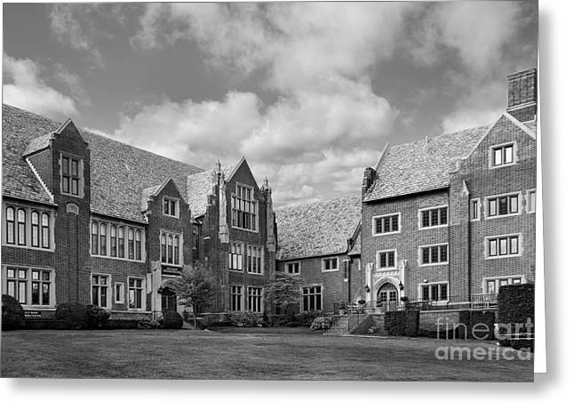 Mercyhurst University Old Main Greeting Card by University Icons