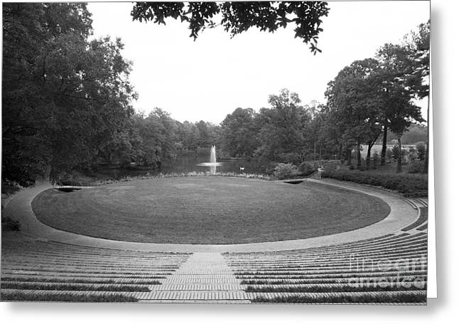 Recently Sold -  - Special Occasion Greeting Cards - Meredith College McIver Amphitheater Greeting Card by University Icons
