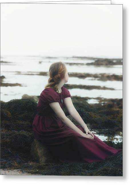 Cheerless Greeting Cards - Mermaid Greeting Card by Joana Kruse