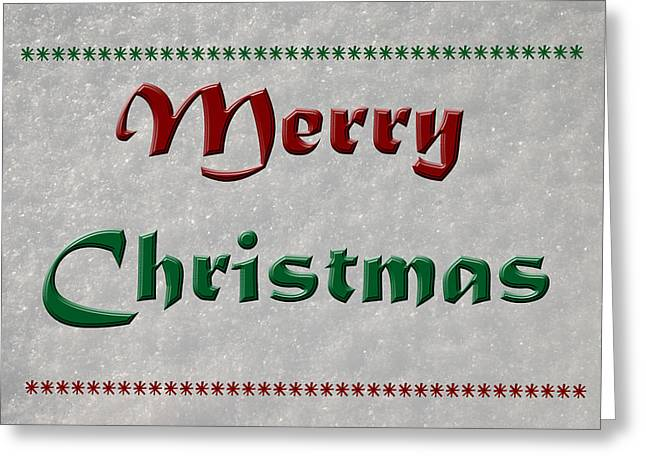 Merry Christmas Greeting Card by Aimee L Maher Photography and Art Visit ALMGallerydotcom