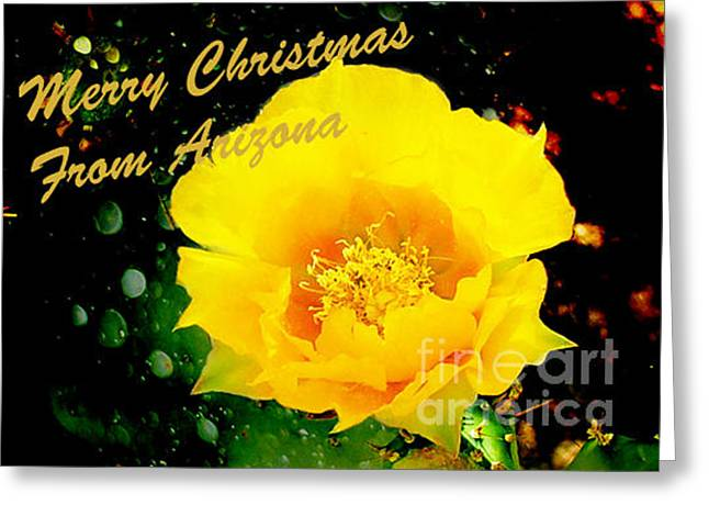 Crosswalk Greeting Cards - Merry Christmas Greeting Card by Beverly Guilliams