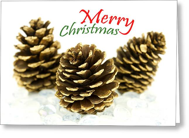 Christmas Greeting Photographs Greeting Cards - Merry Christmas Greeting Card by Blink Images