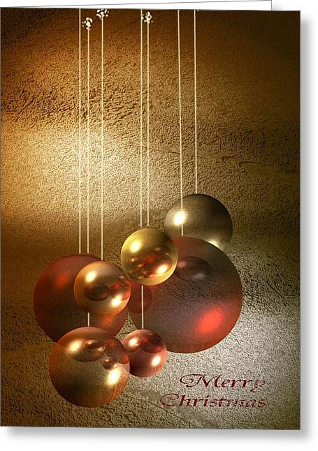 Dagmar Greeting Cards - Merry Christmas Greeting Card by Dagmar Wassenberg