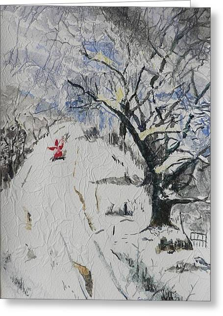 Nicholas Greeting Cards - Merry Christmas  Greeting Card by Geeta Biswas