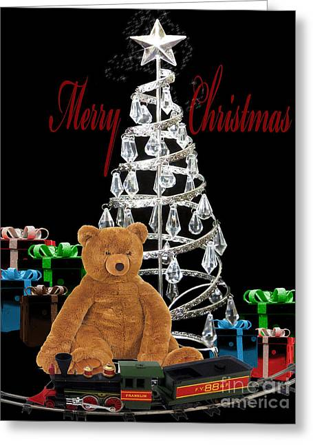 Chelsy Greeting Cards - Merry Christmas III Greeting Card by ChelsyLotze International Studio