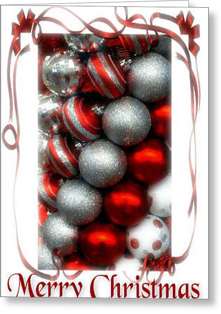 Merry Christmas Greeting Card by Michelle Frizzell-Thompson