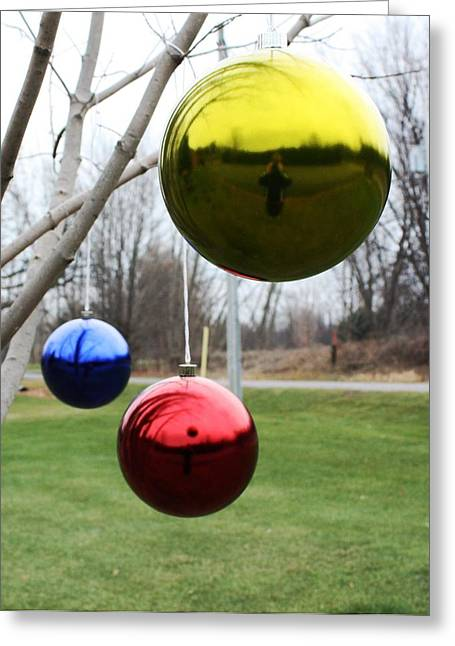 Installation Art Greeting Cards - Merry Christmas Greeting Card by Pat Purdy