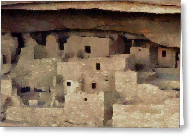 Cliff Dwellers Greeting Cards - Mesa Verde Greeting Card by Dan Sproul