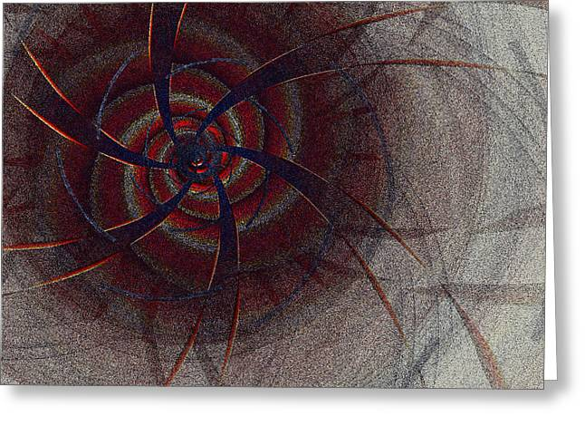 First Star Art By Jammer Greeting Cards - Mesmer by jammer Greeting Card by First Star Art