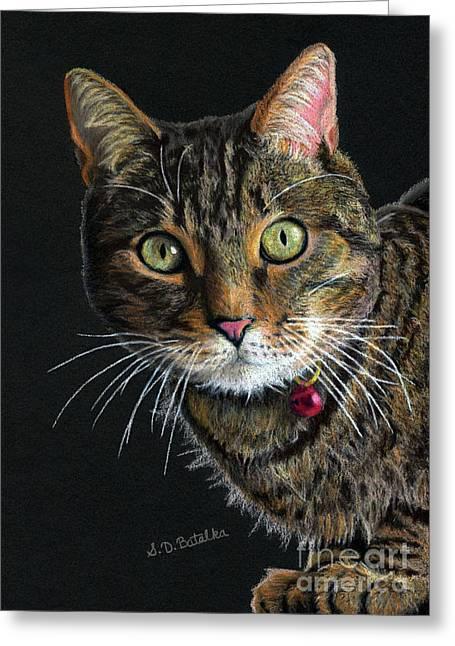 Mesmer Eyes Greeting Card by Sarah Batalka