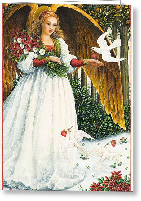 Peace Doves Greeting Cards - Messengers of Peace Greeting Card by Lynn Bywaters