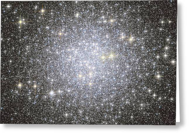 Twinkle Greeting Cards - Messier 53, Globular Cluster Greeting Card by Roberto Colombari