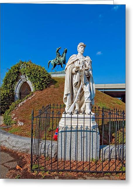 Metairie Cemetery Greeting Cards - Metairie Cemetery 2 Greeting Card by Steve Harrington