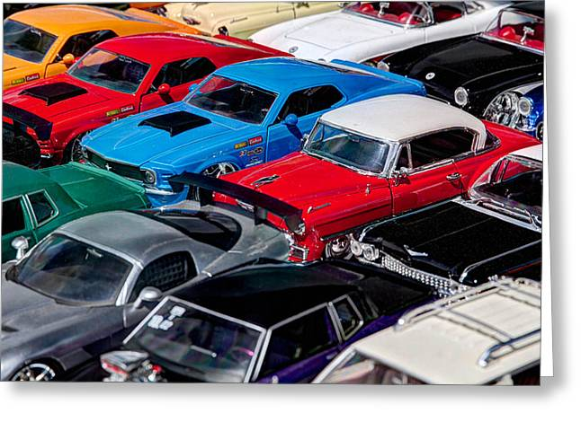 Car Pictures Greeting Cards - Metal Cars Greeting Card by Tim Stanley