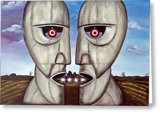 Recently Sold -  - Division Greeting Cards - Metal Heads Greeting Card by  ILONA ANITA TIGGES - GOETZE  ART and Photography