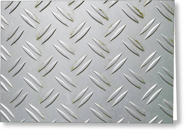 Metallic Surface Greeting Card by Hans Engbers