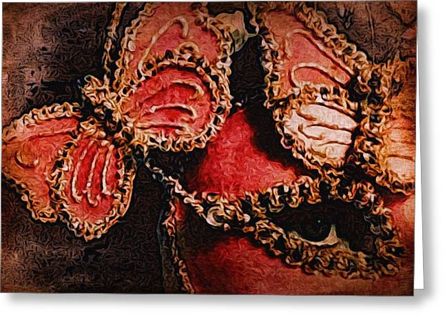 Metamorphos Greeting Card by Susan Maxwell Schmidt