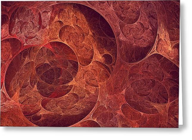 Bipolar Digital Art Greeting Cards - Metamorphic-2 Greeting Card by Doug Morgan