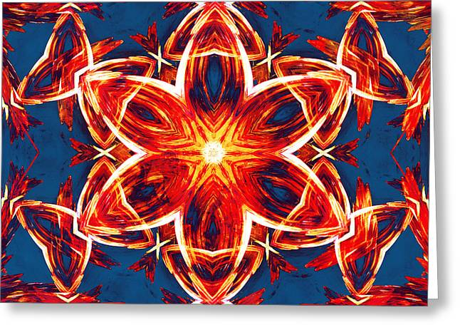 Abstract Style Greeting Cards - Metamorphosis 2 Greeting Card by Shawna  Rowe