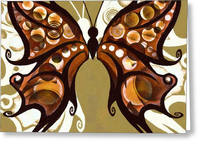Creative Manipulation Digital Greeting Cards - Metamorphosis Greeting Card by Kenny Francis