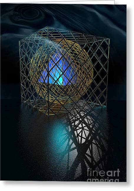 Metaphysics Mixed Media Greeting Cards - Metaphysics - I Greeting Card by Mihai Manea