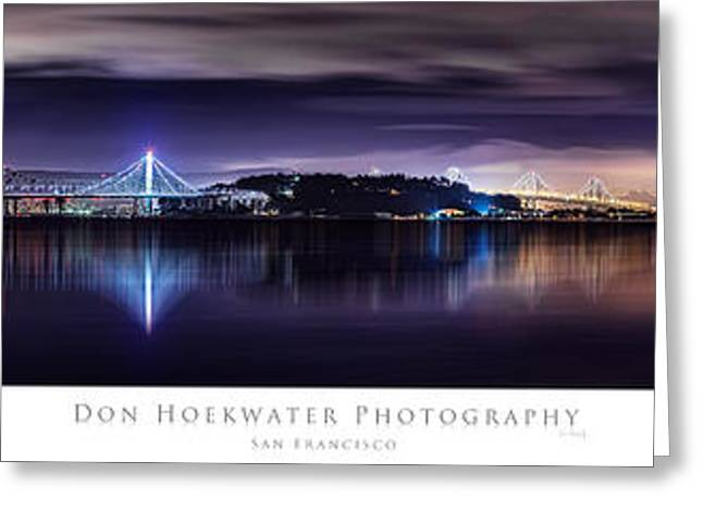 Downtown San Francisco Greeting Cards - Meteor Greeting Card by PhotoWorks By Don Hoekwater