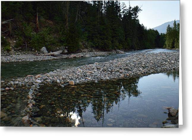 Methow Greeting Cards - Methow River Mazama Greeting Card by Kat Scanlon