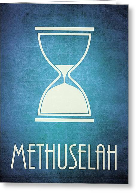 Bible Digital Art Greeting Cards - Methuselah Greeting Card by Brett Pfister
