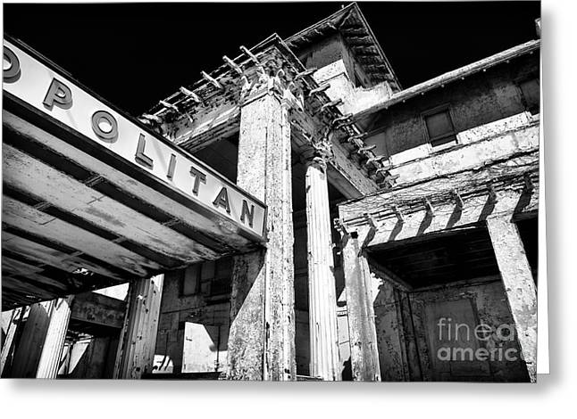 Asbury Park Jersey Shore Architecture Greeting Cards - Metropolitan Angles Greeting Card by John Rizzuto
