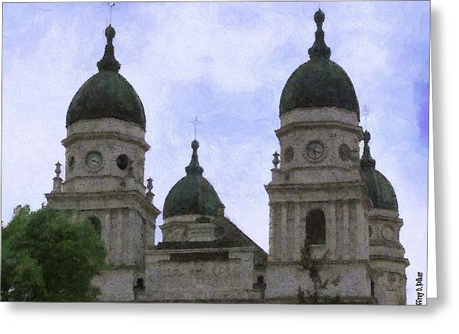Churches Greeting Cards - Metropolitan Cathedral Greeting Card by Jeff Kolker