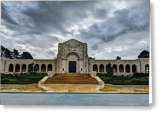 Battle Greeting Cards - Meuse-Argonne Tribute Greeting Card by Chad Dutson