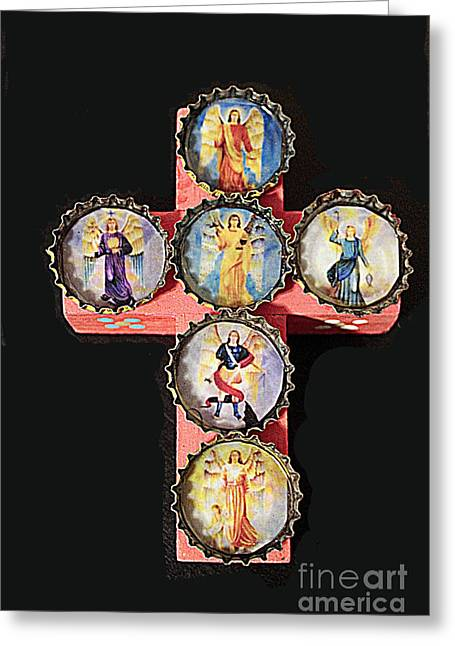 Bottlecaps Photographs Greeting Cards - Mexican Icon Greeting Card by Joe Jake Pratt