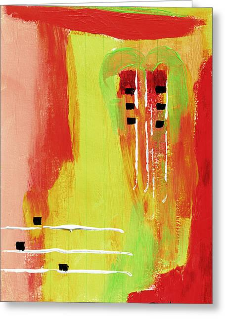 Mexico City Paintings Greeting Cards - Mexico City Greeting Card by Donna Blackhall