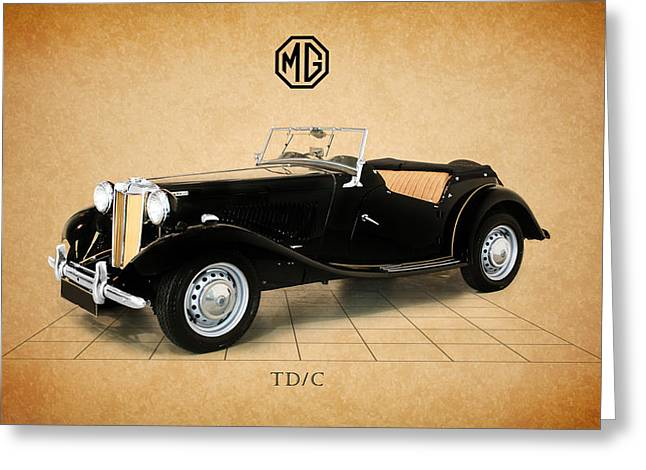 Vintage Mg Greeting Cards - Mg Td-c Greeting Card by Mark Rogan