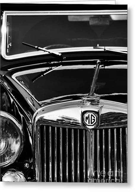 Va Greeting Cards - MG VA Tickford Drophead Coupe Greeting Card by Tim Gainey
