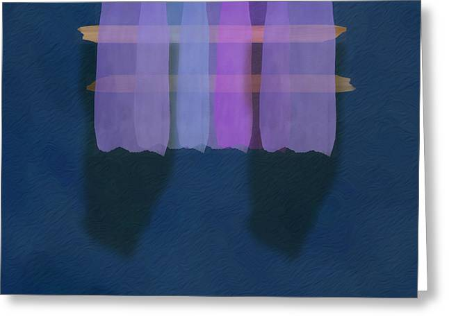 Mgl - Abstract Soft Blocks 01 I Greeting Card by Joost Hogervorst