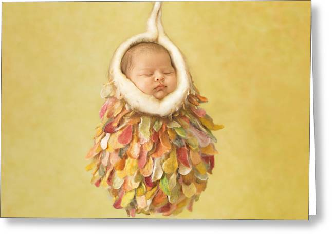 Heartfelt Greeting Cards - Mia Greeting Card by Anne Geddes