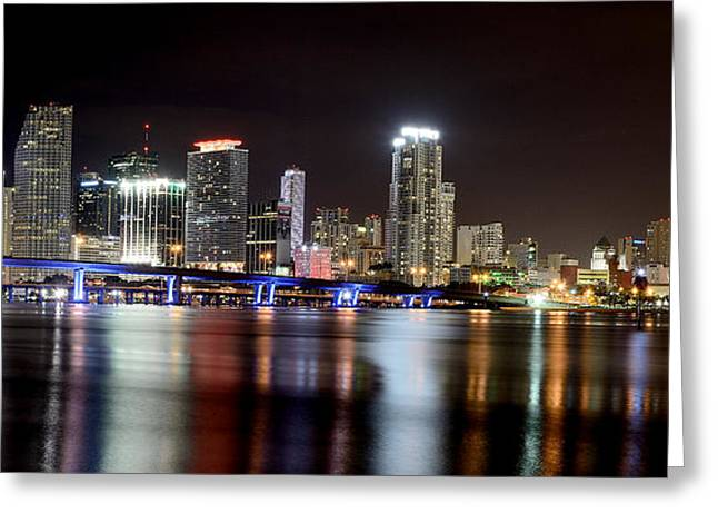 American Airlines Greeting Cards - Miami - Florida  Greeting Card by Brendan Reals
