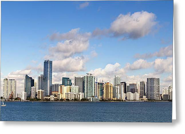 Miami Photographs Greeting Cards - Miami Heat Greeting Card by Evelina Kremsdorf
