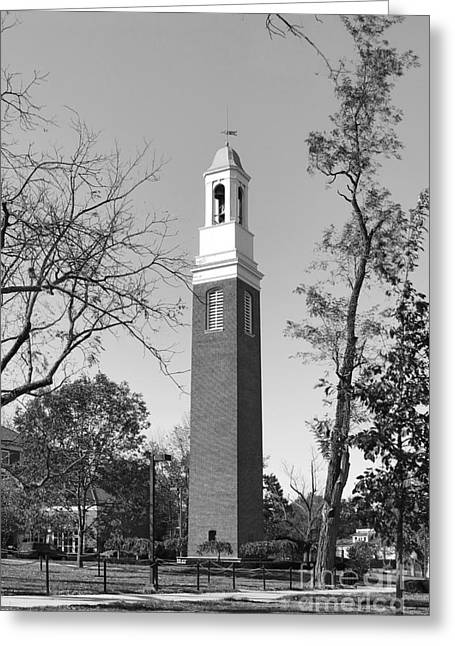 Miami Photographs Greeting Cards - Miami University Beta Bell Tower Greeting Card by University Icons