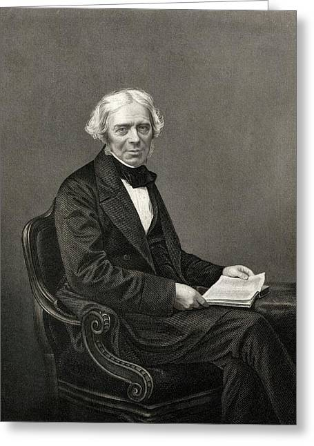 Michael Faraday Greeting Card by Chemical Heritage Foundation
