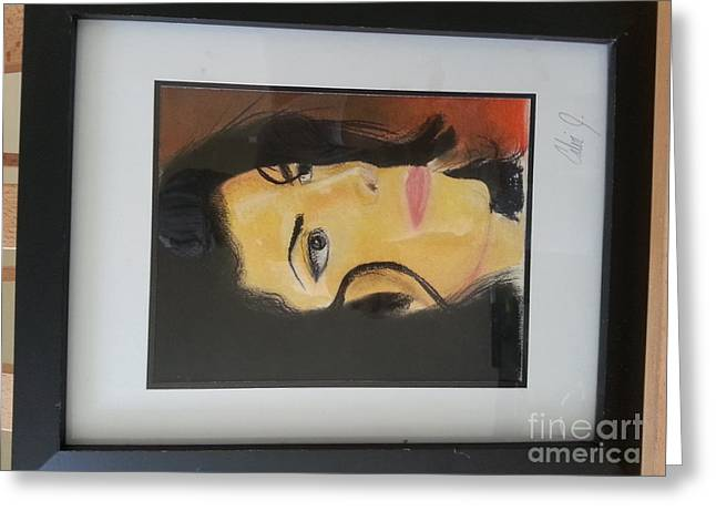 Calvin Jefferson Greeting Cards - Michael Jackson Greeting Card by Calvin Jefferson