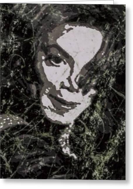 Michael Jackson Greeting Cards - Michael Jackson Concert 5 Greeting Card by Yury Malkov