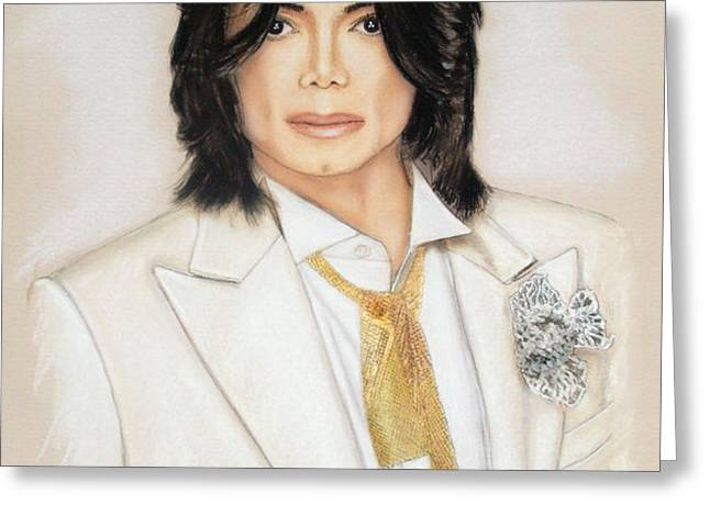 Michael Jackson Greeting Card by Melanie D