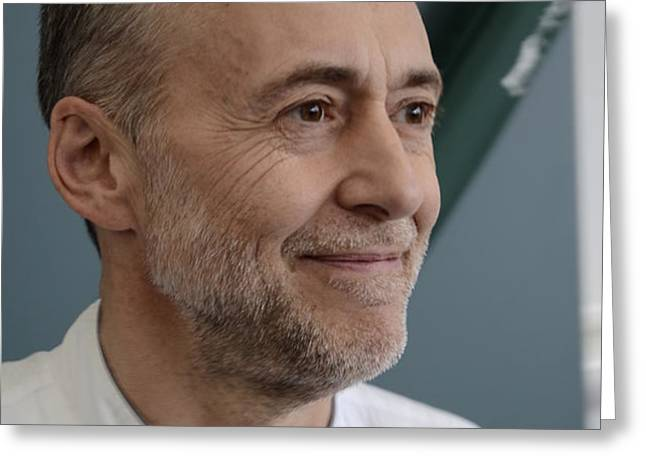 Michel Roux Jr. Greeting Card by CandyAppleRed Images