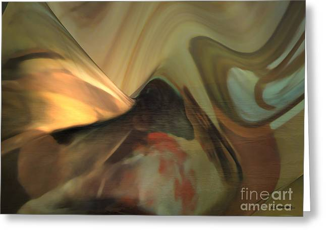 Michelangelo Greeting Cards - Michelangelo fresco ceiling atmosphere Greeting Card by Christian Simonian