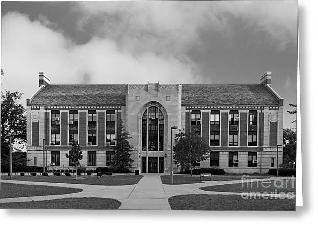 Big Ten Conference Greeting Cards - Michigan State University North Kedzie Hall Greeting Card by University Icons