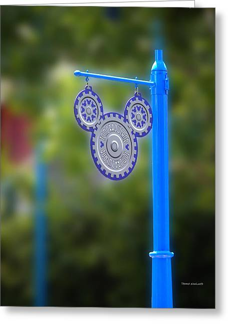 Magical Place Photographs Greeting Cards - Mickey Gears Greeting Card by Thomas Woolworth