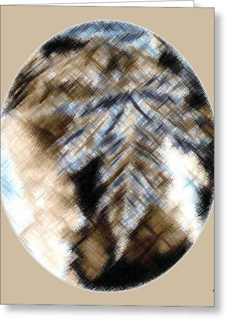 Intrigue Greeting Cards - Micro Linear 32 Greeting Card by Will Borden