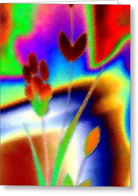 Intrigue Greeting Cards - Micro Linear 37 Greeting Card by Will Borden